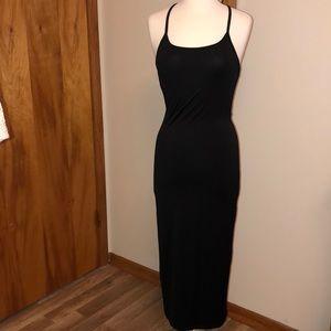 Victoria's Secret Black Maxi dress size small